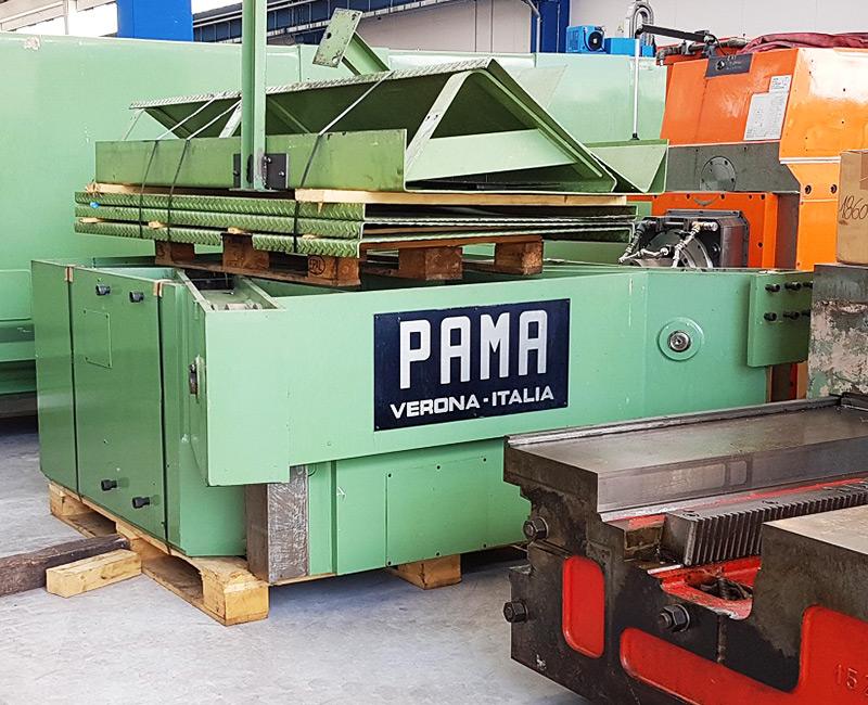 Inizio installazione centro di fresatura PAMA